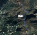 Gori - doli - naokoli, od Planine Ravne na Planino Polšak  (1695 m); 08.02.2020
